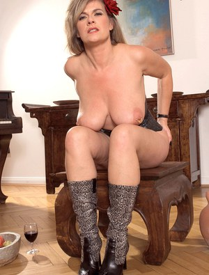 Mom In Boots XXX
